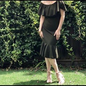NWT black Lularoe cici dress